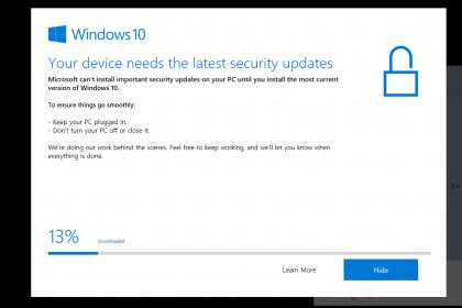 윈도우 10 Your device n…