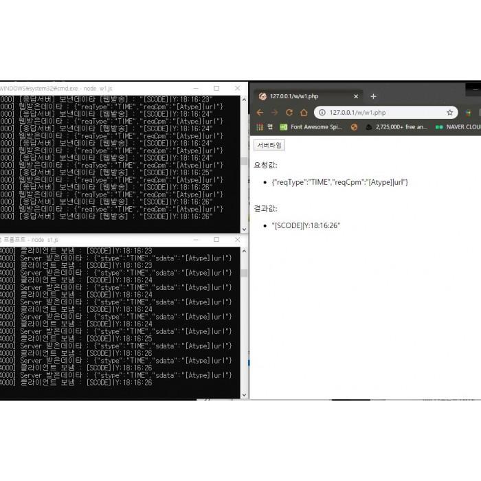 WebSocket TCP 통신
